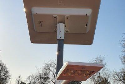 éclairage solaire autonome